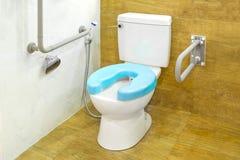 Modern toilet voor gehandicapten Royalty-vrije Stock Foto's