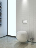 Modern toilet wc Stock Photo