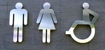 Modern toiletteken royalty-vrije stock afbeelding
