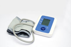 Modern tonometer for blood pressure measurement Royalty Free Stock Image