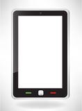 Modern touch screen phone. Fictitious modern touch screen phone Stock Photography