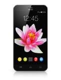 Modern touchscreen smartphone Stock Photos