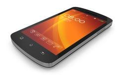 Modern touchscreen smartphone. Stock Photography