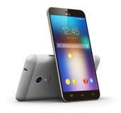 Modern touchscreen smartphones Stock Images