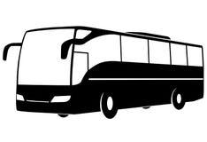 Modern touristic buss arkivbild