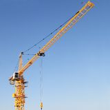 The modern tower crane Royalty Free Stock Image