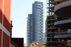 Modern tower in milan Royalty Free Stock Photo