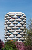Modern tower in Paris suburb Royalty Free Stock Photography