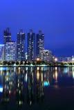 Modern Town,Bangkok cityscape Stock Photography