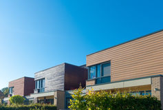 Modern town houses. Row of modern town houses in Oldenzaal, Netherlands Royalty Free Stock Images