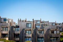Modern Townhomes Stock Image