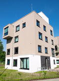 Modern townhouse in Germany Stock Photo