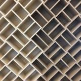 Modern träväggdesign tolkning 3D av ett kontorsutrymme Hem- och kontorsgarnering stock illustrationer