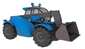 Modern tractor Stock Photo