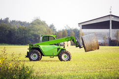Modern tractor Royalty Free Stock Photos