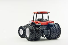 Modern tractor model - back Royalty Free Stock Image