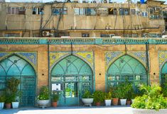 Modern and traditional architecture, Iran stock photos