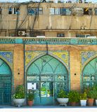 Modern and traditional architecture, Iran royalty free stock photos