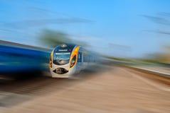 Modern train Royalty Free Stock Photo