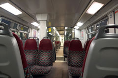 Modern Train Carriage Royalty Free Stock Images