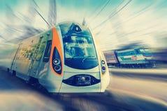 Modern train Stock Photography