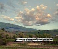 Modern train Stock Image