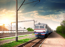 Modern train Royalty Free Stock Images