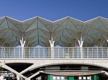 Modern Train Station Royalty Free Stock Photography