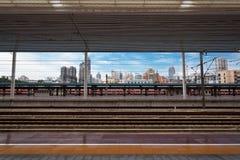 Modern train station Stock Photography
