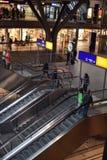 Modern train station berlin Stock Photo