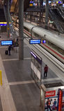 Modern train station berlin Stock Images