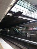Modern Train Station Royalty Free Stock Photo
