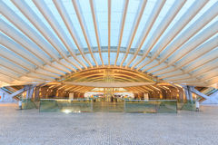 Modern train station in Lisbon Stock Photos