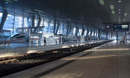Modern Trainstation Stock Images