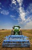 modern traktor för åkerbruk utrustning Royaltyfria Foton