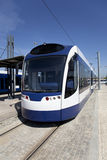 Modern tram Royalty Free Stock Photos