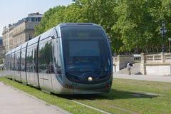 Modern tram in Bordeaux Stock Photography