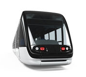 Modern Tram Isolated Stock Image