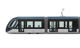 Modern Tram Isolated Stock Photos