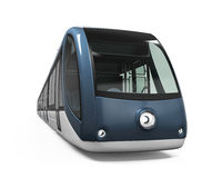 Modern Tram Isolated Royalty Free Stock Photos