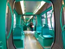 Modern tram, Milan, Italy Stock Photos
