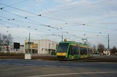 Modern tram Stock Photography