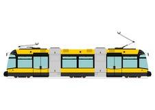 Modern tram Royalty Free Stock Photography