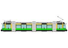 Modern tram Stock Photos