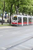 Modern tramway on Ringstrasse, Vienna Stock Images