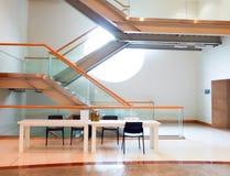 Modern trappuppgång Arkivfoton