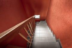 modern trappuppgång fotografering för bildbyråer