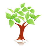 Modern tree symbol Royalty Free Stock Photography