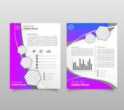 Modern triangle presentation template. Business design background, brochure or flyer concept or geometric web banner. Vector illustration royalty free illustration
