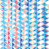 Modern triangular pattern Royalty Free Stock Photo